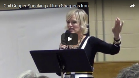 Gail Cooper at Iron Sharpens Iron